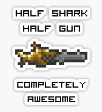 Minishark Terraria Sticker