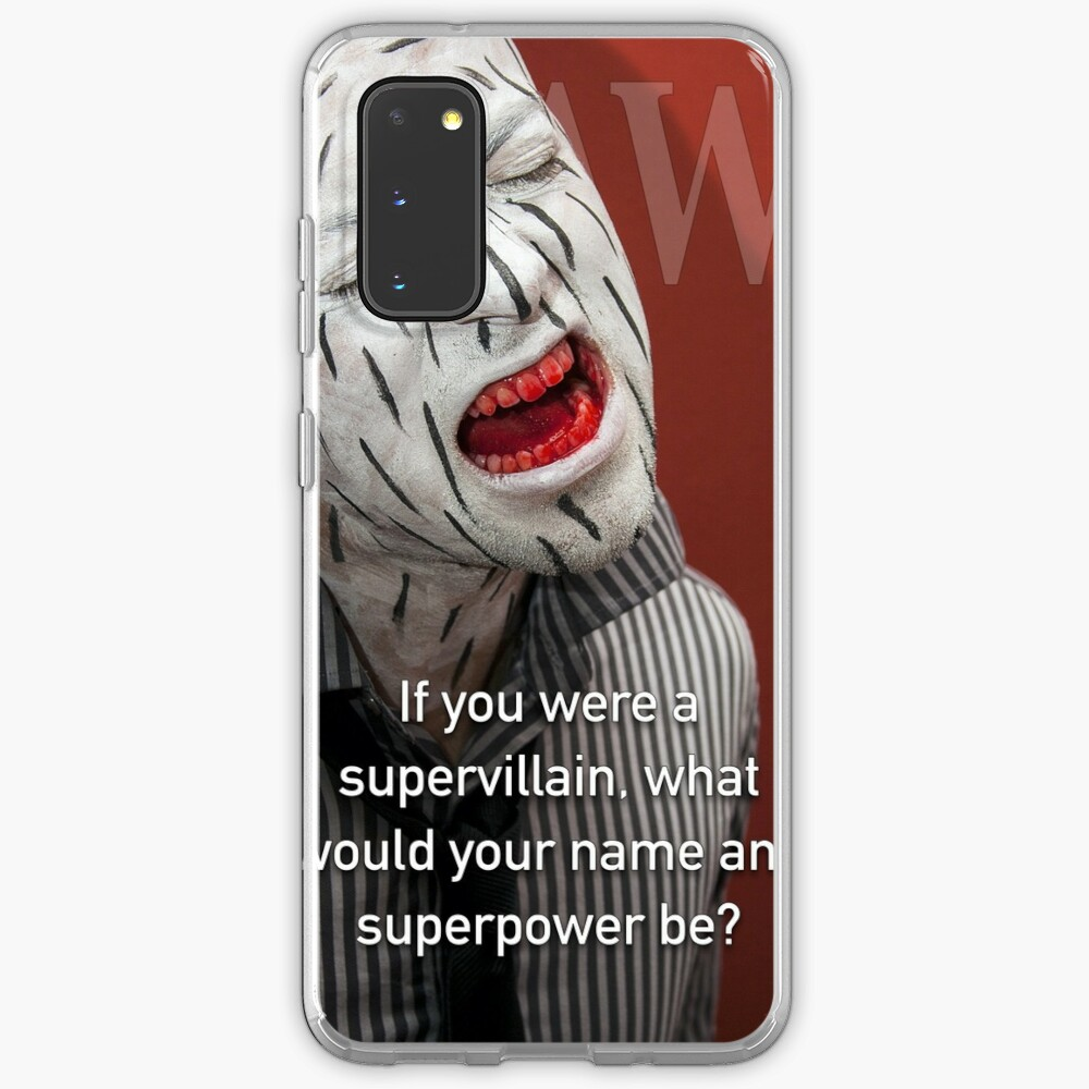 If You Were A Supervillain Case & Skin for Samsung Galaxy
