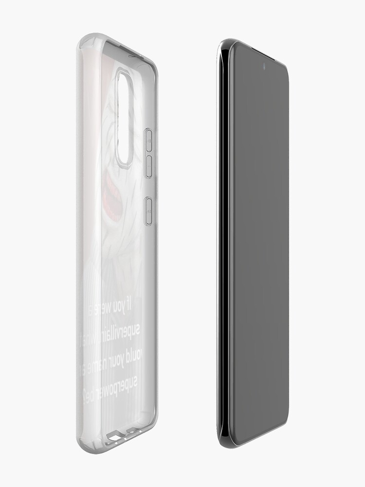 Alternate view of If You Were A Supervillain Case & Skin for Samsung Galaxy