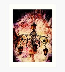 Plaza Light Art Print