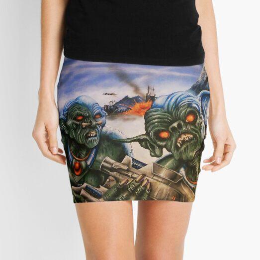 Space Goblins poster art Mini Skirt