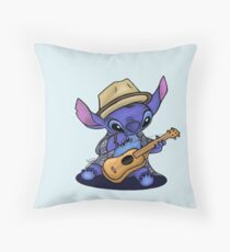Stitch as MRJ Throw Pillow