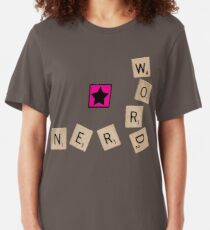 Word Nerd Slim Fit T-Shirt