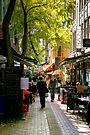 Hardware Lane at Lunchtime by Christine Smith