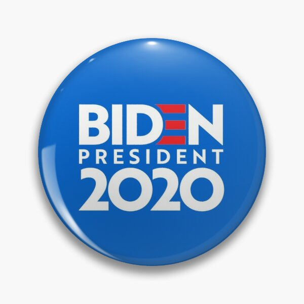 JOE FOR PRESIDENT 2020 Merch Pin