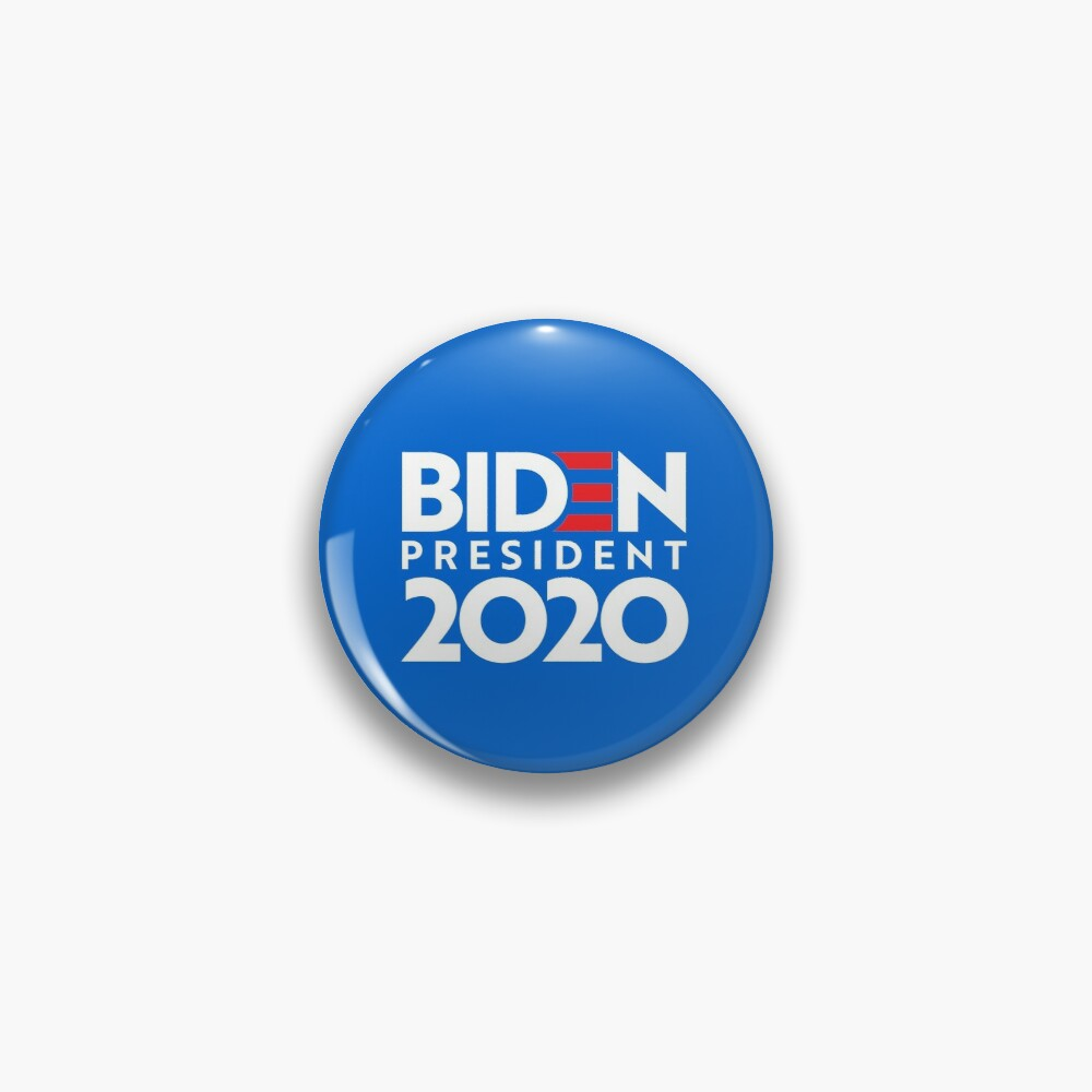 JOE FOR PRESIDENT 2020 Merch Pin