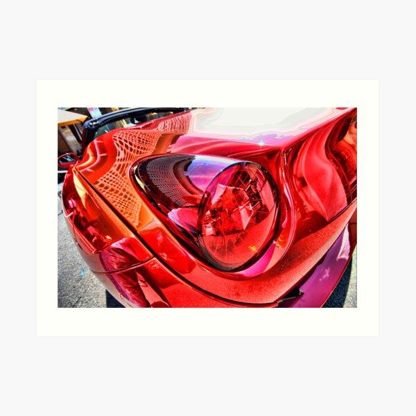 Ferrari in Sydney Art Print