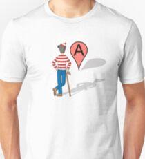 Here Is Waldo Unisex T-Shirt