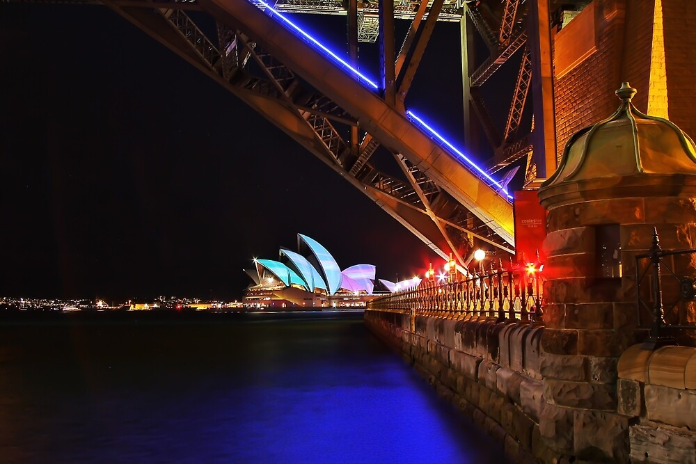 Opera house by night by PastorCameron