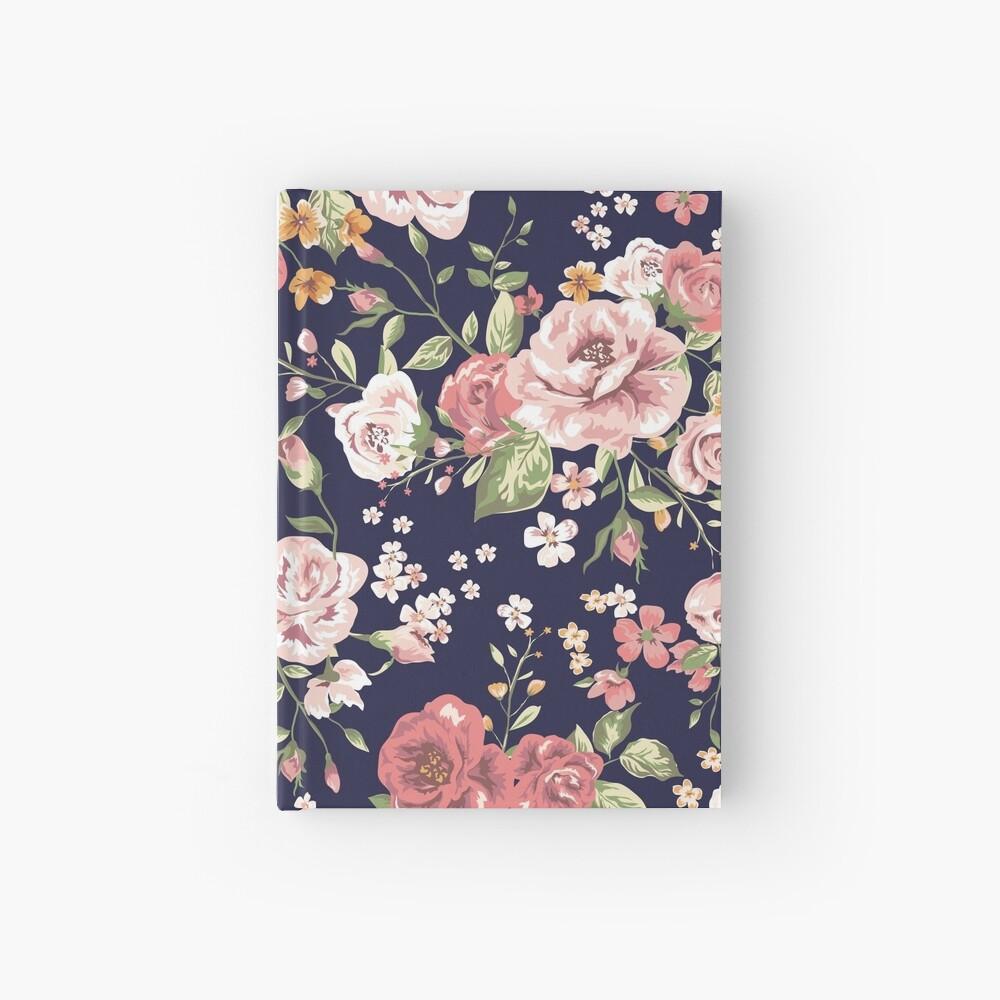 Floral Hardcover Journal
