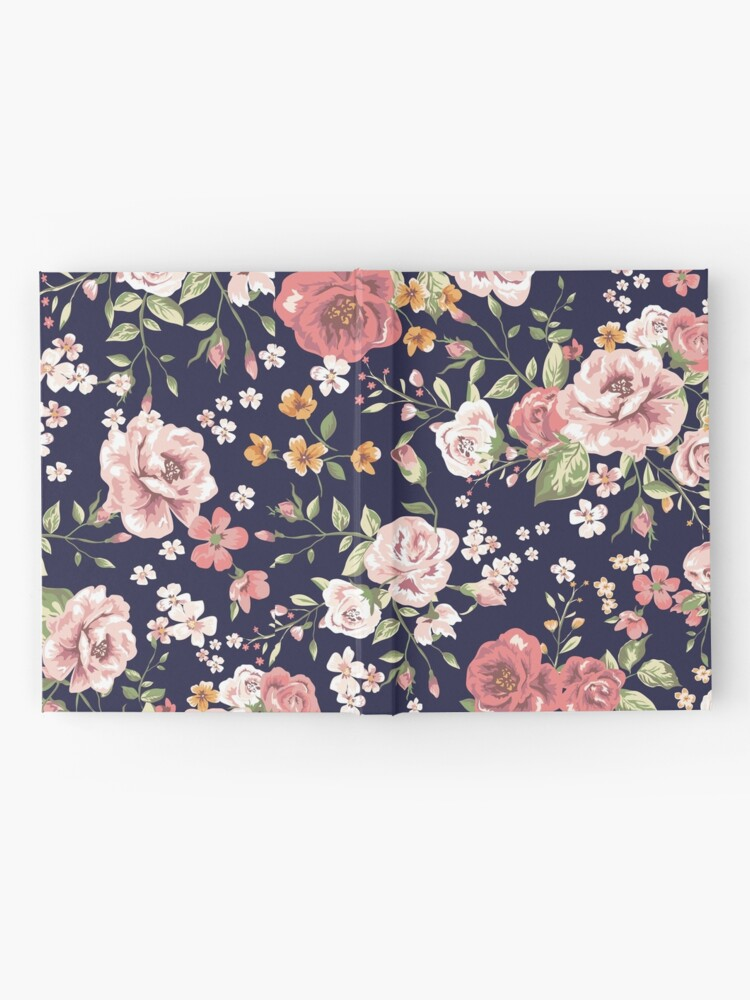 Alternate view of Floral Hardcover Journal