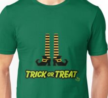 Witch Shoes Trick or Treat Unisex T-Shirt
