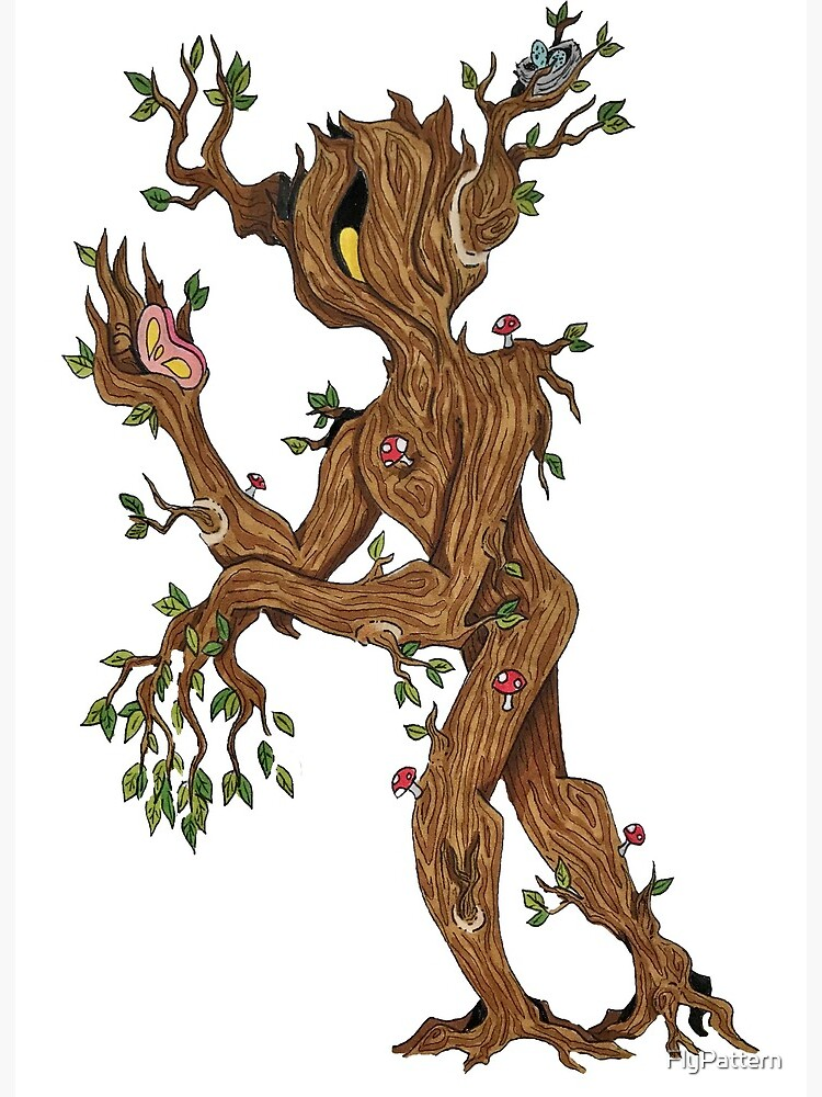Tree Monster Art Board Print By Flypattern Redbubble But things take a turn for. redbubble