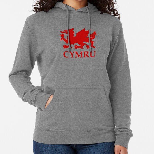 Fan Shop Wales Welsh Dragon orgoglioso Welsh Cymru Felpa con ...