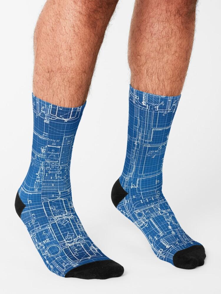Alternate view of BLUEPRINT. BLUEPRINTS. Socks