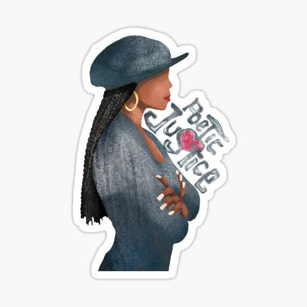 Poetic Justice Janet Jackson Sticker