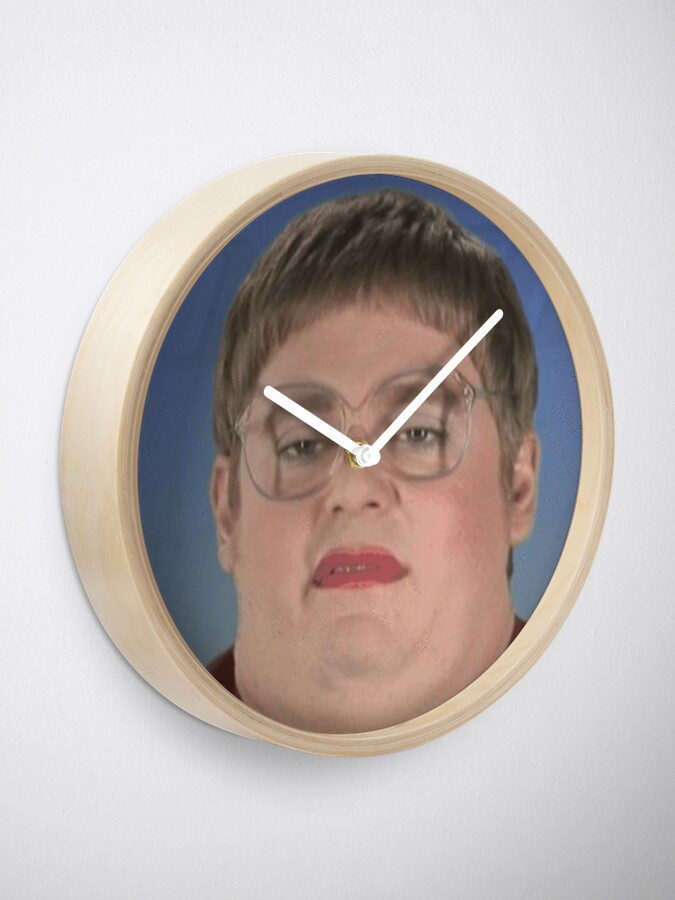 Alternate view of tim and eric news Clock