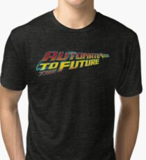 Automate to the Future Tri-blend T-Shirt