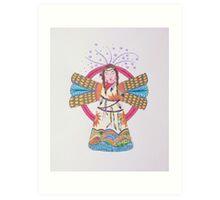 Angel/3 - My Favorite Angel Art Print