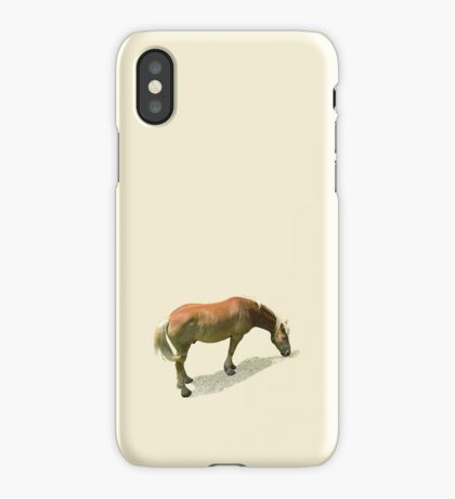 Horse from Kristberg (T-Shirt & iPhone case) iPhone Case/Skin