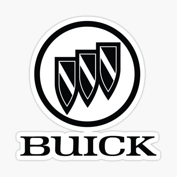 Buick black Sticker