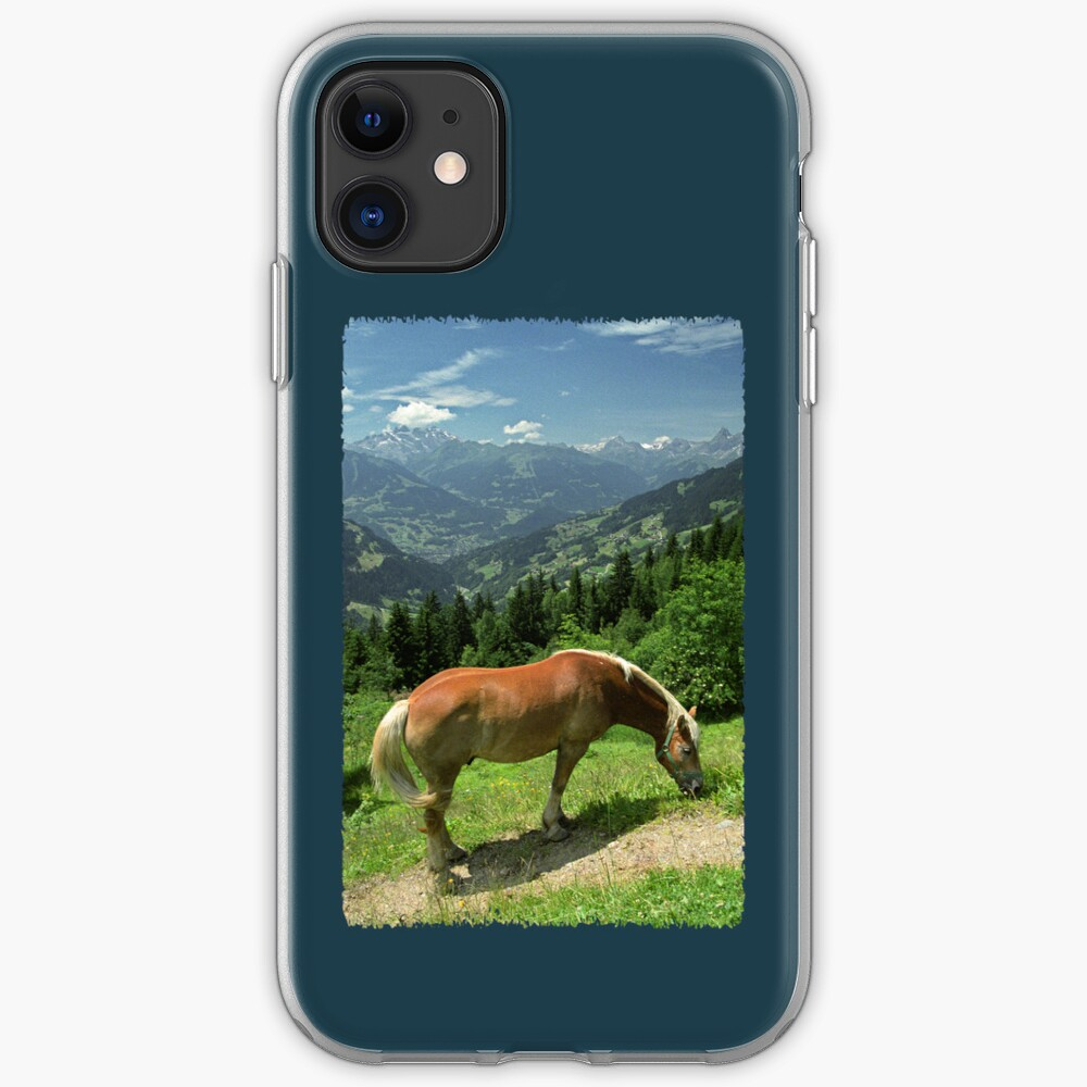 Horse at Kristberg (iPhone case) iPhone Case & Cover
