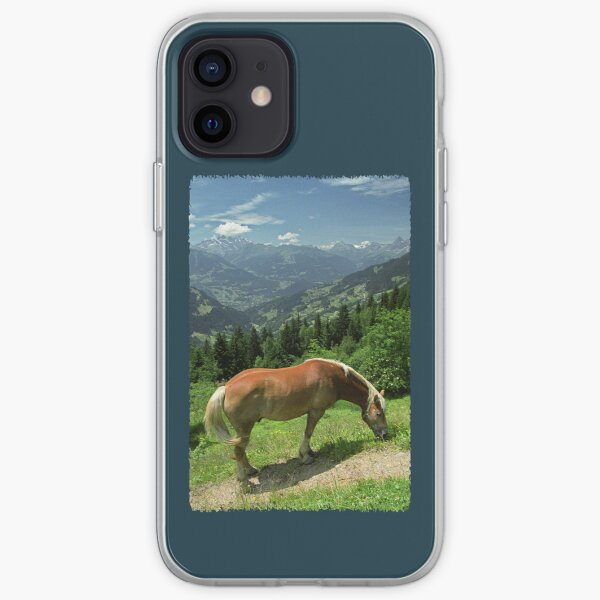 Horse at Kristberg (iPhone case) iPhone Soft Case