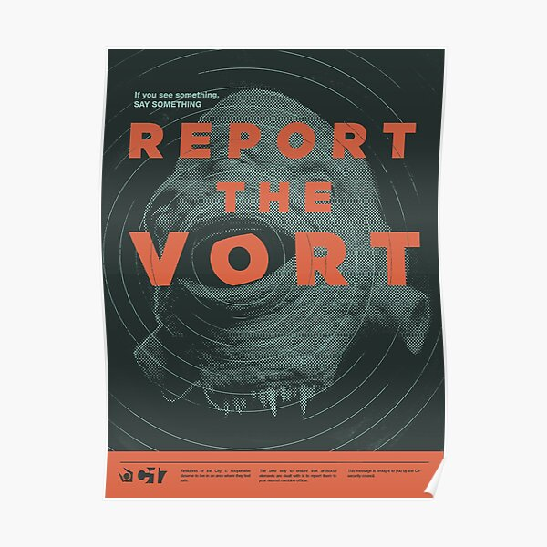 Report the Vort Poster