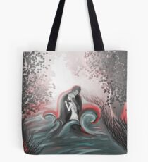 The Swan Curse - SwanFire Tote Bag
