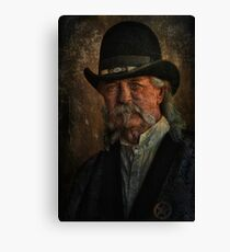 Tombstone Sheriff Canvas Print