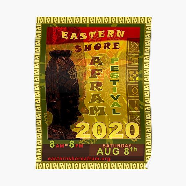Eastern Shore AFRAM Festival | Ebony Queen Poster