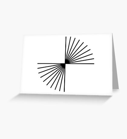 Helmholtz's angle expansion Greeting Card