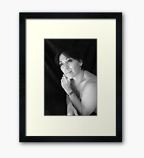 PORTRAIT PHOTO #3 Framed Print