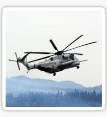 Marine Helicopter At Air Show Sticker