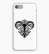 Aries Black iPhone case iPhone Case/Skin