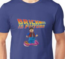 Brick to the Future with Marty Mcfly Unisex T-Shirt