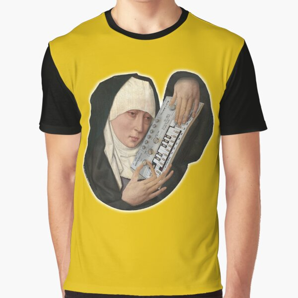 Mater Dolorosa meets Roland TB 303, by Frank Fonik. Original HD  Graphic T-Shirt
