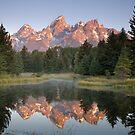 Teton Sunrise by Steve Biederman