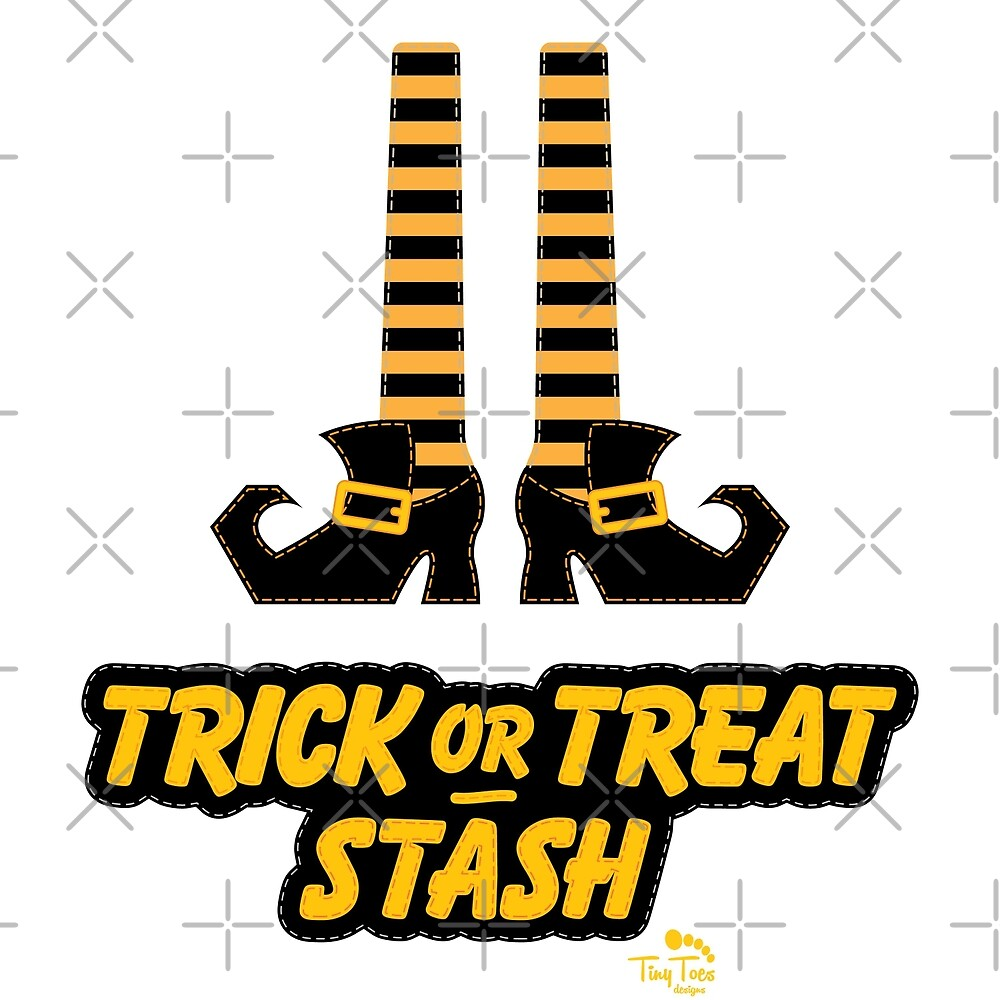 Witch Shoes Trick or Treat Stash by BadCatDesigns