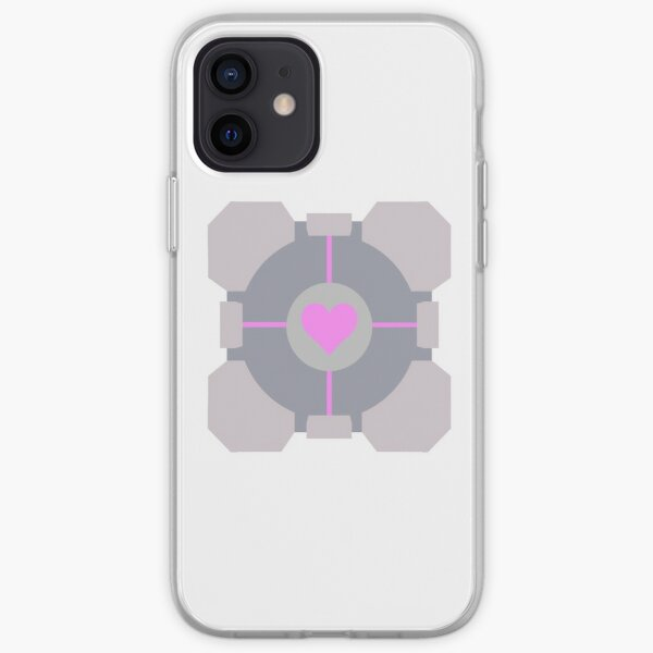 Companion Cube Portal iPhone Soft Case