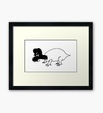 Hector the Dragon Framed Print