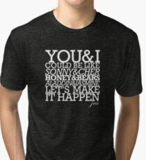 JRA - By Chance (Dark Shirts) Tri-blend T-Shirt