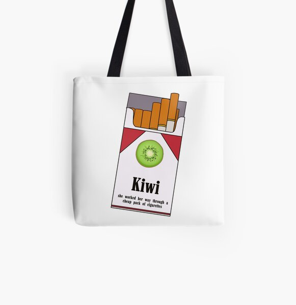 Hard Liquor mixed with a bit of Intellect Cotton Tote Bag Harry Styles Kiwi