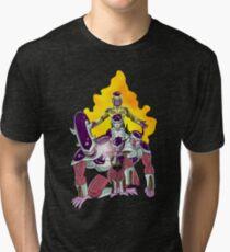 The Evolution of Frieza Tri-blend T-Shirt