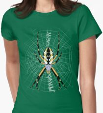 Golden Argiope Women's Fitted T-Shirt
