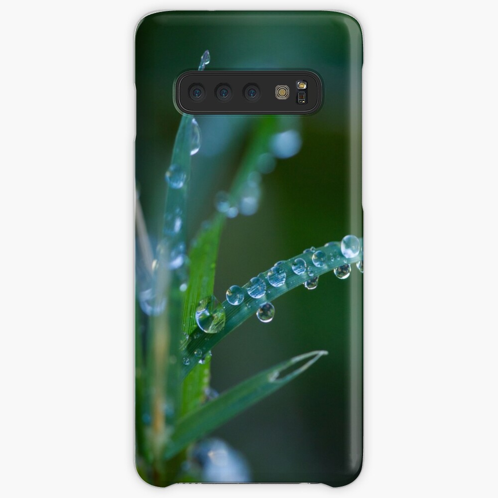 Water drops on leaves (1) Case & Skin for Samsung Galaxy