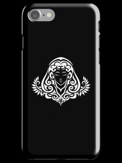 Virgo White iPhone case by elangkarosingo