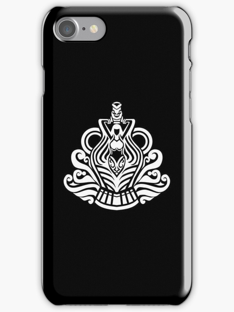 Aquarius White iPhone case by elangkarosingo