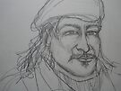 Reynaldo Drawing 1 by Anthea  Slade