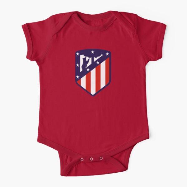 Atlético de Madrid Short Sleeve Baby One-Piece